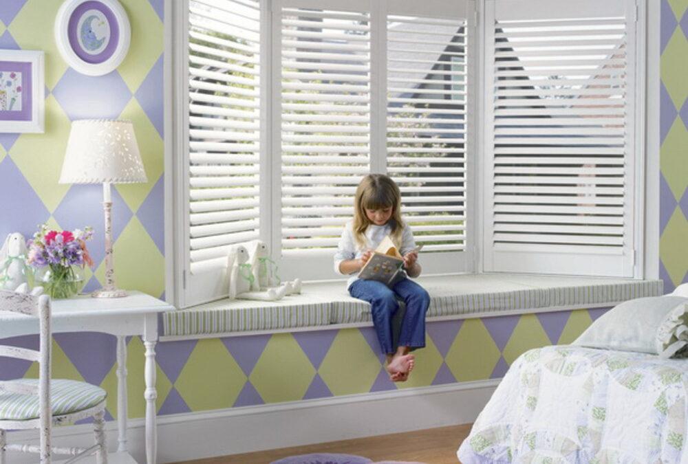 Пластиковые окна в детской: за и против
